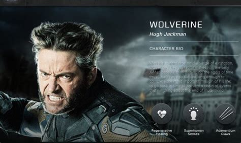 film character biography new x men days of future past photos character bios
