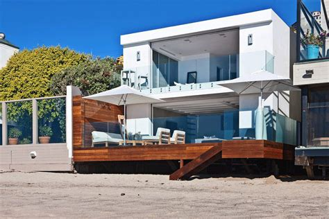 houses in malibu contemporary beach house in malibu california