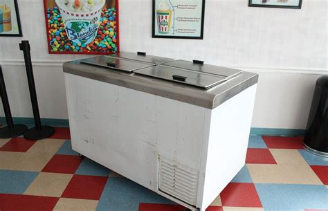 used dipping cabinet used nelson bd8 dipping cabinet