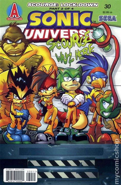 25 years later books sonic universe 2009 comic books