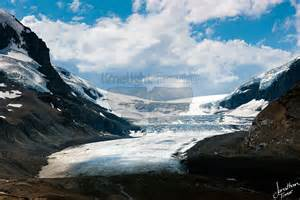 Lake Home Interiors the athabasca glacier of the columbia icefield in the
