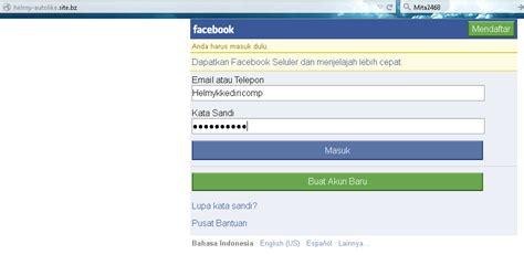 cara membuat web facebook cara membuat web phising facebook all cheat and trick games