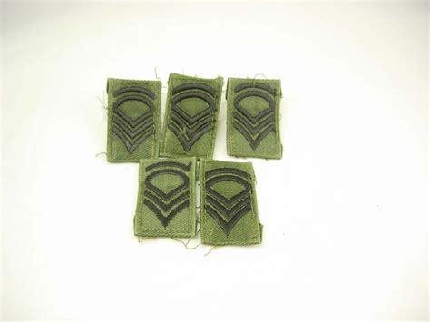 supplement 7 sfc vintage destash rank patches subdued enlisted staff