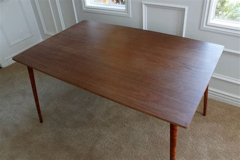 Plywood Dining Table Charles Eames Herman Miller Dtw 3 Walnut Plywood Dining Table For Sale At 1stdibs