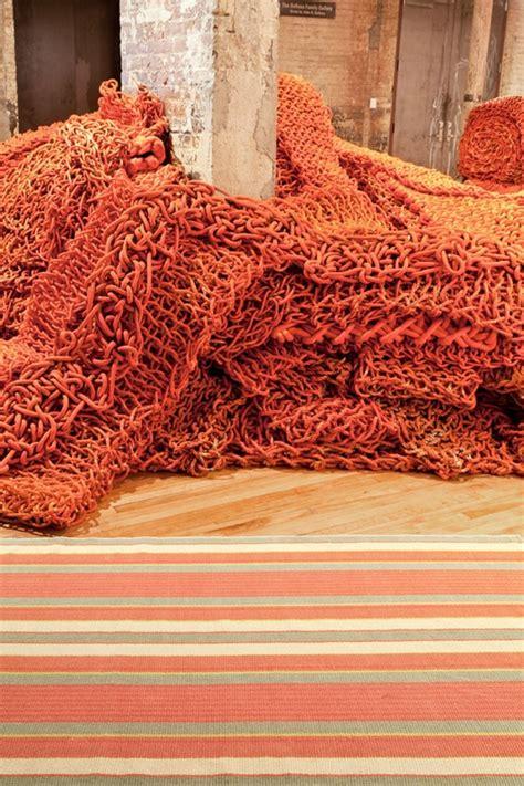 autumn rug autumn stripe woven cotton rug by dash albert rosenberryrooms