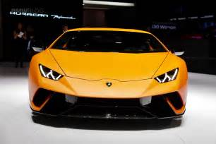 How Much Is The Lamborghini Huracan 2017 Geneva Lamborghini Huracan Performante Makes A Splash
