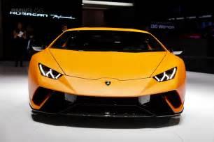 Lamborghini Huracan 2017 Geneva Lamborghini Huracan Performante Makes A Splash
