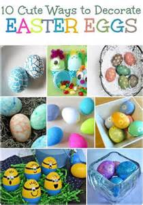 10 cute ways to decorate easter eggs lip gloss high heels