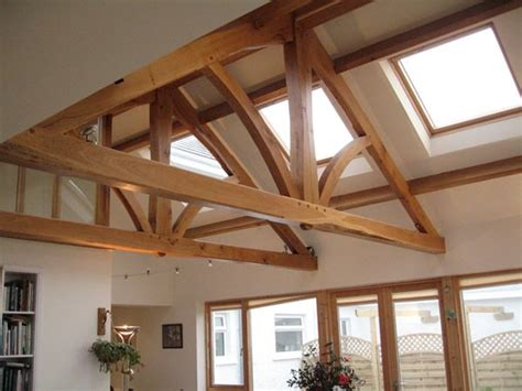 exposed roof trusses 38 best images about timber trusses on pinterest