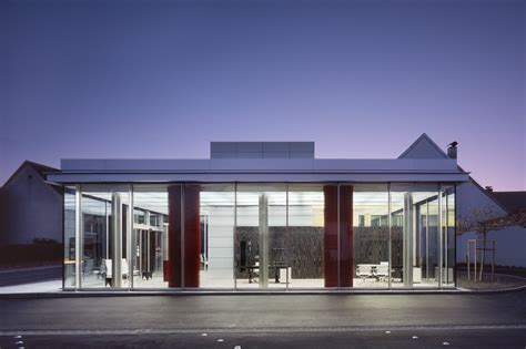 community bank germany branch bank in hettingen ecker architekten archdaily