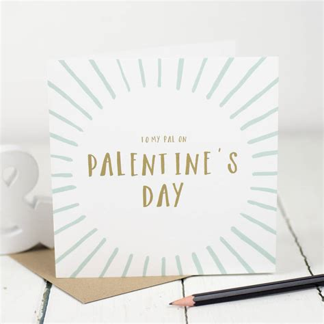 day cards palentines day friend card by bespoke verse