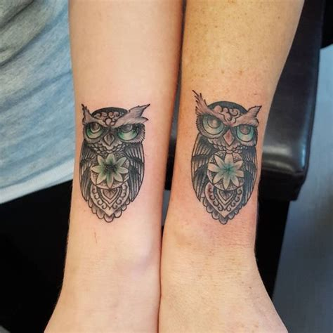 owl tattoos for couples owl meaning and designs ideas baby owl