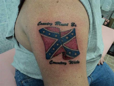 confederate flag tattoo amazing rebel flag tattoos designs and ideas