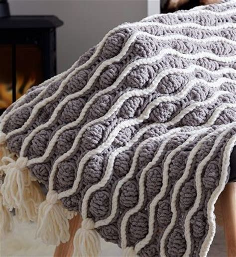 knitting on the net bulky yarn afghan patterns patterns kid