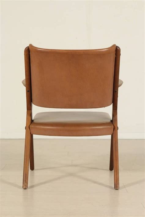 Chair Upholstery Foam Seven Chairs Stained Beech Wood Foam Padding Leatherette