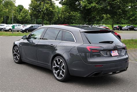 opel insignia sports tourer spyshots opel insignia opc sports tourer getting a