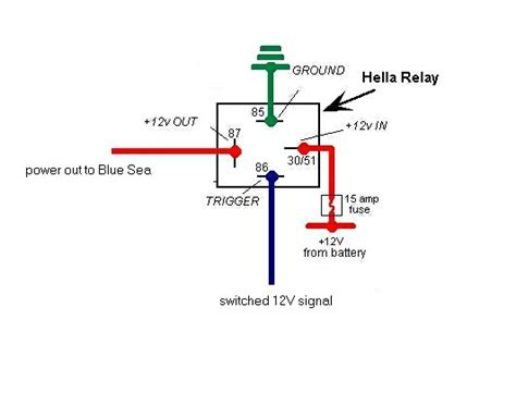 12v relay wiring diagram 5 wire get free image about