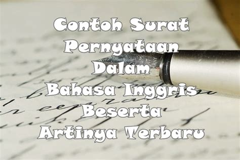 contoh letter bahasa inggris beserta artinya cover