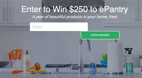 E Pantry by Enter To Win 250 Worth Of Quality Household Products From Epantry Money Saving 174