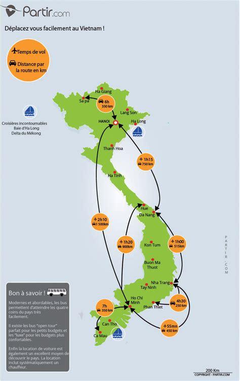 viet nam or vietnam que voir au vietnam cartes touristiques et incontournables