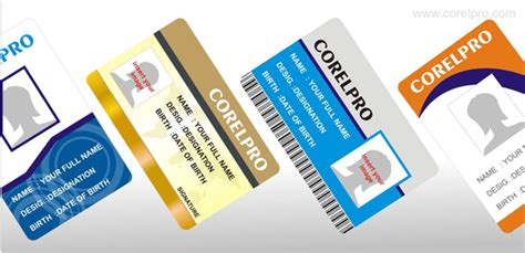 how to design identity card using coreldraw id card templates