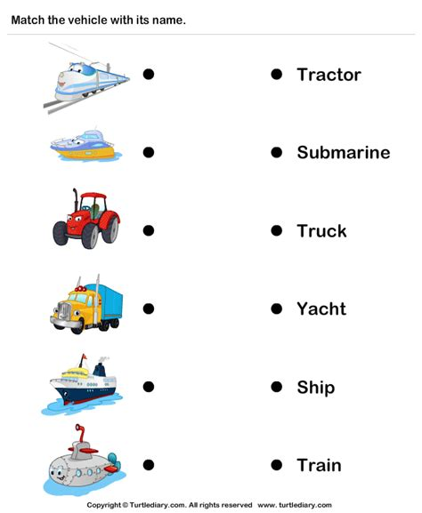 tractor truck worksheet turtle diary