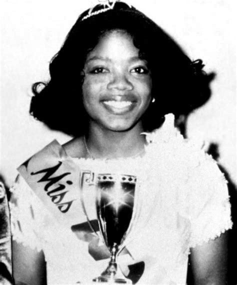 oprah winfrey young pictures young oprah winfrey celebrity yearbook pinterest