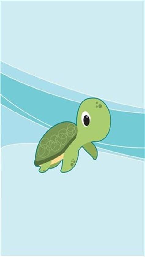 Wallpaper Cartoon Turtle | cartoon baby turtle iphone wallpaper background iphone