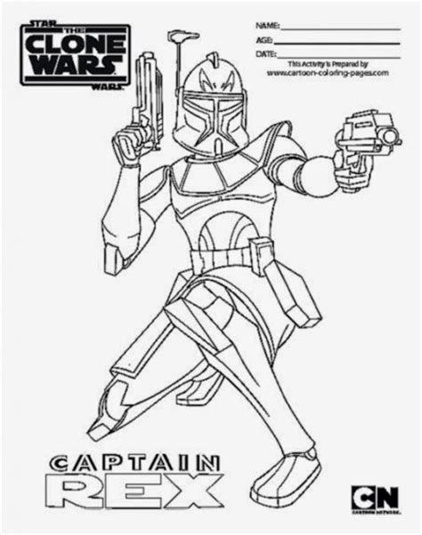 captain rex and commander cody coloring pages coloring pages