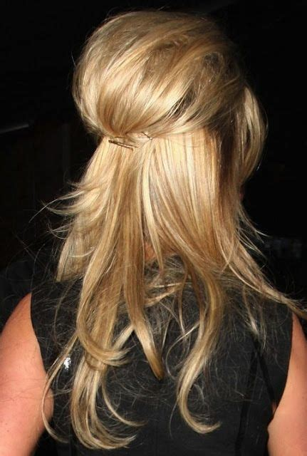 Half Pinned Hairstyles by 30 And Weekend Hairstyles Simple Easy