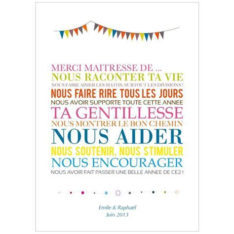 Lettre De Remerciement Maitresse Affiche Merci Ma 238 Tresse Cadeau Ma 238 Tresse Original