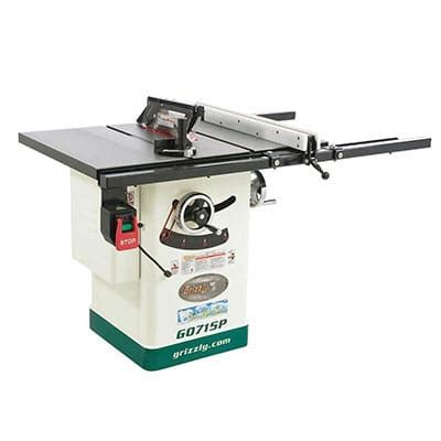 hybrid table saw reviews grizzly g0715p hybrid table saw review tool nerds