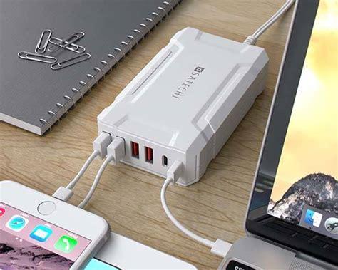 satechi multi port usb charging station  usb  ports