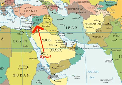 map of and surrounding countries senator mobina jaffer understanding the syrian conflict