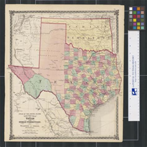 texas indian territory map resources 4 educators