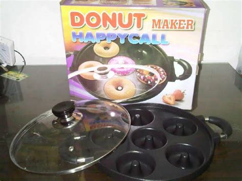 Teflon Donat jual wajan donut maker happycall teflon cetakan kue donat