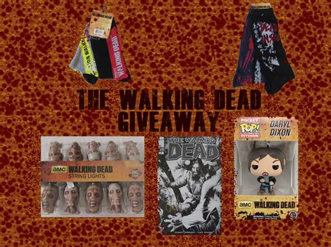 Walking Dead Giveaway - the walking dead giveaway gbreviews