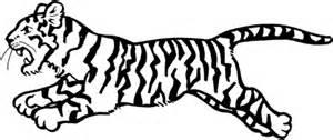 coloriage tigre qui saute coloriages 224 imprimer gratuits