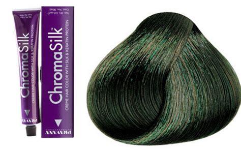 pravana chromasilk hair color correctors 3 oz image beauty pravana chromasilk color corrector ash green 3 oz