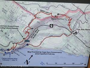 horn map hiking the cape horn trail in washington adventure strong