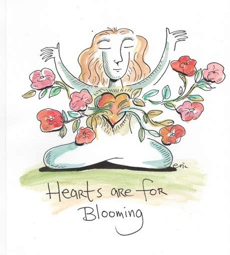 dharma doodle friday hearts are for blooming wisdom