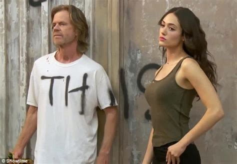 emmy rossum father emmy rossum moons cast and crew during shameless shoot for
