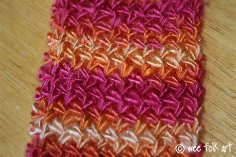Knitting The Cross Stitch Tutorial And Scarf