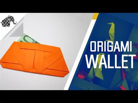 Easy Origami Wallet - how to make an origami wallet