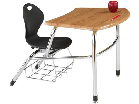 Inspiration Student Combo Desk Woodstone Top 14 Quot H Student Chair Desk Combo
