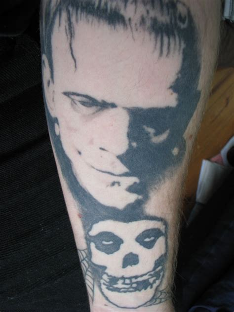frankenstein misfits tattoo by zombiejoe13 on deviantart