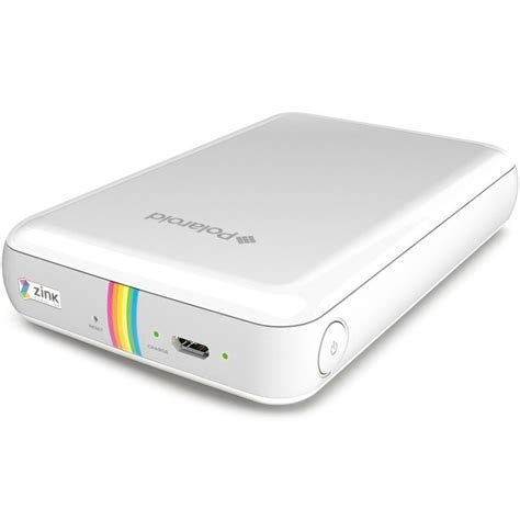 mobile polaroid printer new polaroid zip instant mobile photo printer white