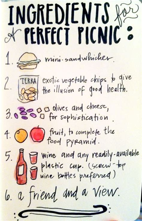 Checklist Of Things You Need For A Picnic by 7 Best Images About Picnic Ideas On Crafts