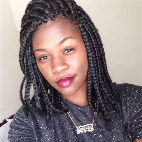 short box braids hair styles box braided hairstyles for black women 15 inventive box