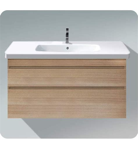 Contemporary Bathroom Vanity Units Duravit Ds6495 Durastyle Wall Mounted Modern Bathroom Vanity Unit